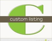 Custom Listing Lindsey W