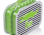 Alligator Navy Lunchbox
