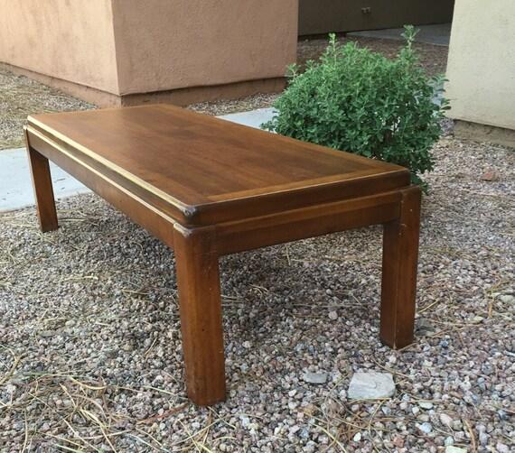 Lane Coffee Table Rhythm Style 50 Walnut By AntiqueAddictions