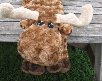 Moose and Beaver Canada COMBO STUFFED ANIMAL Sewing Patterns - Digital Download
