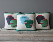 Set of Three Woven Southwestern Pillow Cases