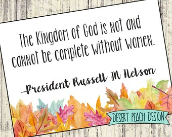 November LDS Visiting Teaching Message
