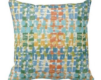 Outdoor Pillows, Blue Aqua OUTDOOR Pillows, Throw Pillows, Blue Patio Pillows, Outdoor Pillow Sets, Pillow Covers