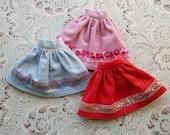 Colorful Corduroy Blythe Skirts