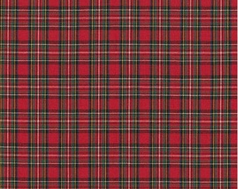 Red Mini Plaid from Robert Kaufman's Sevenberry Classic Plaid Collection
