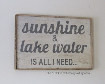 Private Listing Reserved for Kelli - Sunshine & Lake Water is all i need...