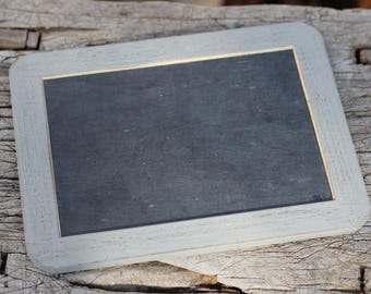 "Calkboard Sign Wedding, Real Slate Chalkboard 4"" X 6"""