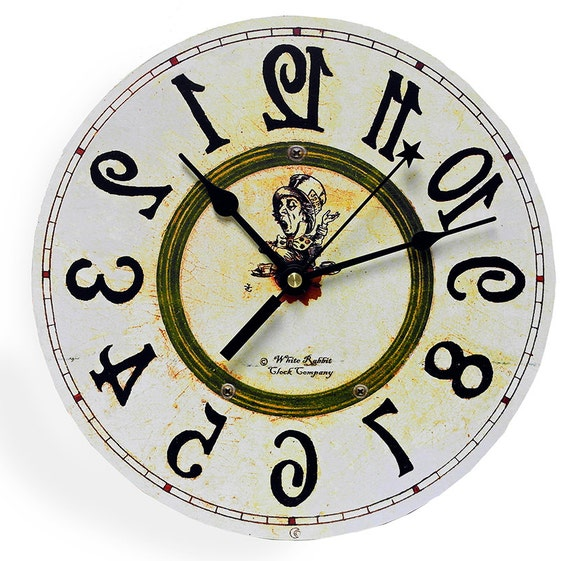 alice in wonderland clock clipart - photo #34