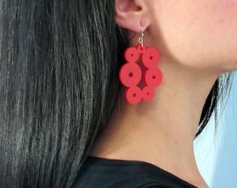 On Sale Gift For Her, Acrylic Geometric Earrings,Dangle Drop Acrylic Earrings, BUY 1 GET 1 FREE, Bold Earrings, Gift for her