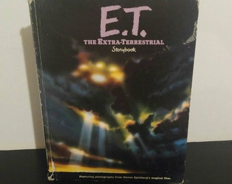 Vintage Children's Book - E.T. The Extra-Terrestrial Storybook - 1982