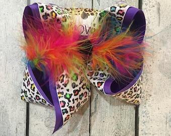 new glitter leapord print on bright fun colors