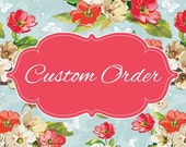 Custom Order for Gina and her Princess