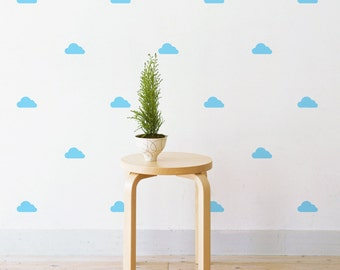 Mini Clouds | Removable Wall Decal & Sticker for Home, Office, Nursery | LSB0225VCC-S