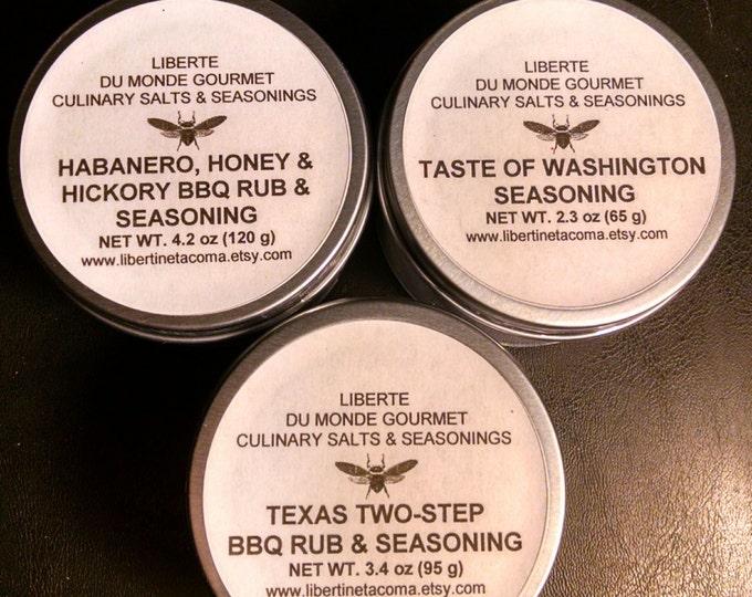 Gourmet BBQ Rubs and Seasonings