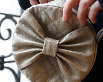 Amelie Circle Bow Purse - PDF Pattern and Tutorial