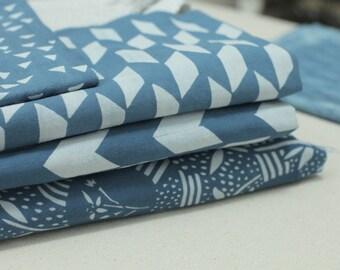 Hand Printed Katazome Fabric