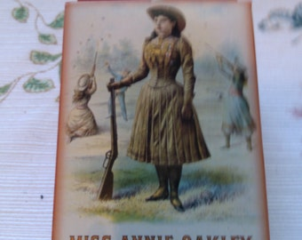 REDUCED  Mis Annie Oakley The Peerless Lady Wing Shot, Playing Cards