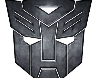 Transformer Wall Decal, Transformer Removable Decal, Boy's Room Decal, Vinyl Wall Graphics, Bedroom Decals, Vinyl Wall Graphics