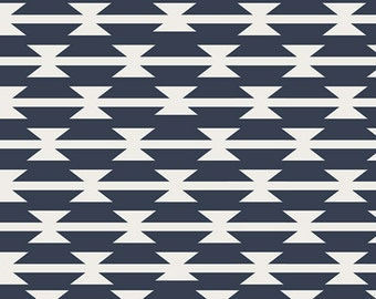 Nursing Pillow Cover - Navy Tomahawk and Minky - Tribal, Woodland, Western, Ready to Ship