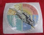 Vintage 1975 PINK FLOYD Wish You Were Here Sticker