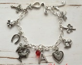 Custom, Your Way Charm Bracelet (JUST CHARMS), FREE Shipping by Okrrah