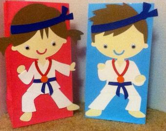 Cute Karate Goody Bags