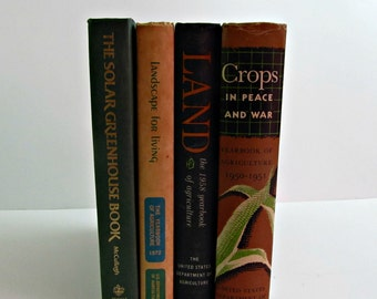 Set of 4 Agriculture Text Books