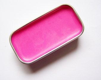 Zero Waste Vegan Lipstick - Barbie Mineral Lip Color - Lipstick In A Tin - Vegan Mineral Makeup -  Cruelty Free Cosmetics