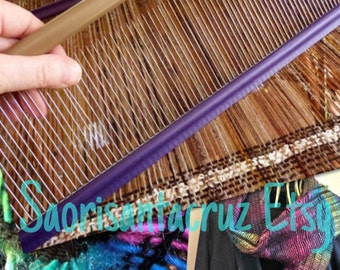 Saori comb weaving reed for special  effects with warp yarns  :saorisantacruz