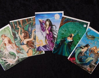 Greeting Cards- Set of Five