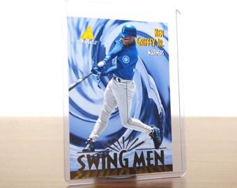 1995 Pinnacle Ken Griffey Jr Swing Men 304 Baseball Card