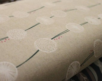 Japanese Kokka/ Echino Fabric ( tayutou by fabrica uka root crop natural)