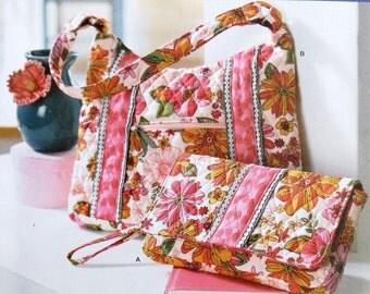 Handbag Purse Pattern Bags DIY Simplicity 2201