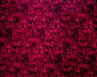 Deep, dark Reds misty Illusions from Choice Fabrics