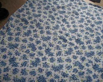 "Beautiful Vintage FLORAL FEED Sack...38"" by 45"" opened...Perfect Condition...FREE Shipping"