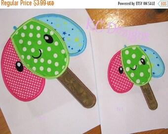 50% OFF SALE Kawaai Embrella Machine Applique Embroidery Design - 4x4, 5x7 & 6x8
