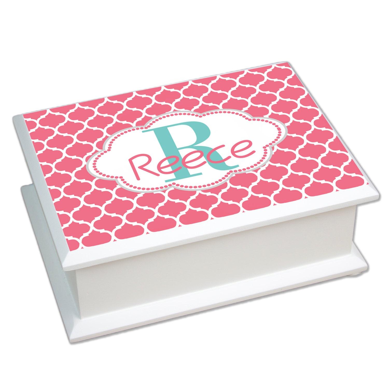 Monogrammed Jewelry Box Personalized Jewelry Boxes communion