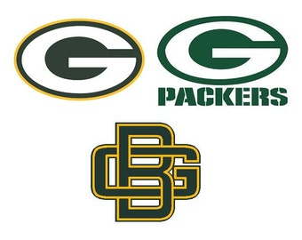 Green Bay Packers Decal/RTIC YETI  Car Decal, Computer Decal, Window Decal, Cell Phone Decal
