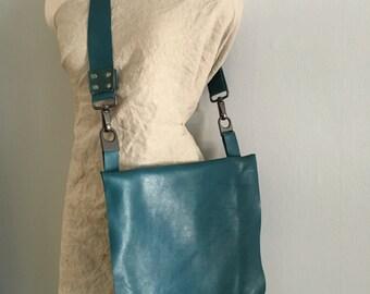 Leather satchel leather messenger bag