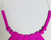 Pink Statement Teething Necklace