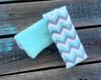 Chevron Carseat Strap Covers