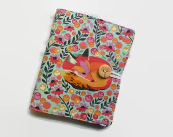 Honey Do List, Pocket Notebook, Fox Notepad, Grocery Store List, Field Notes, Small Notebook, Mini Notebook, To Do List Notepad, Tula Pink