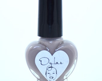 Dylan Taupe Nail Polish 5ml Mini Bottle