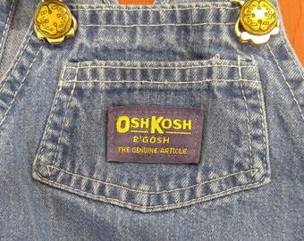 OshKosh- overalls- denim- toddler overalls