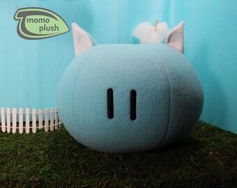 Kitty Dango Plush, Cat Dango Pillow, Clannad Dango, Mochi Plush, Clannad Cosplay - Hand-made - size Medium