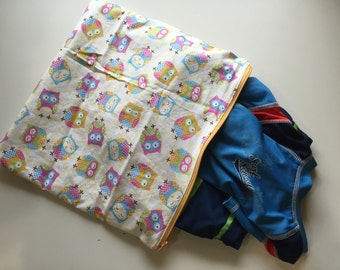 Medium Owls Wet Bag In Stock, Ready to Ship