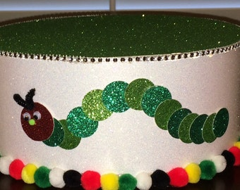 Cake Pop Cake stand Hungry Caterpillar Theme / 1st birthday Topper Centerpiece display/Party/Table Decoration