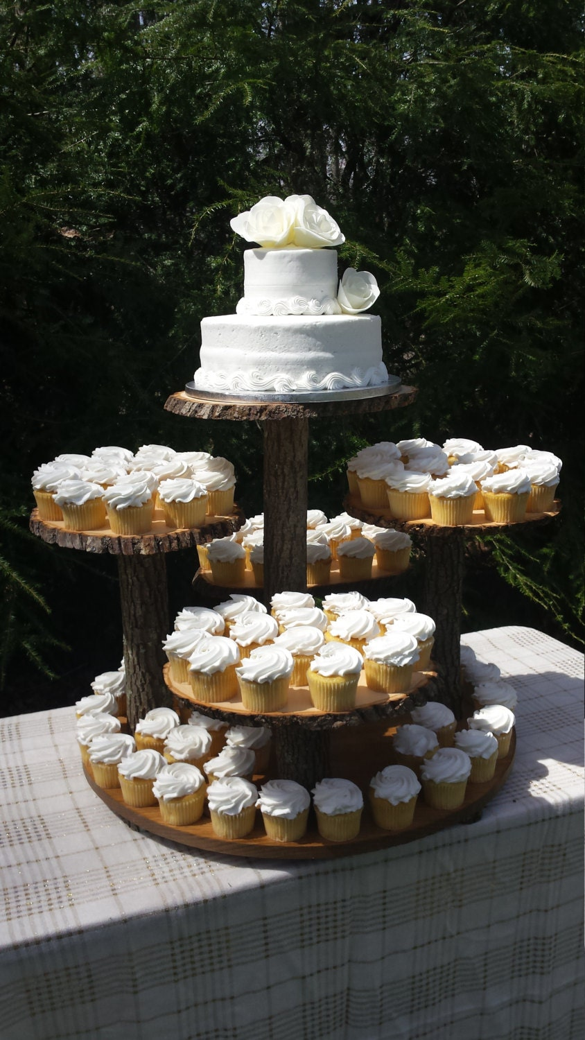 wooden cupcake wedding cake stands rustic cupcake stand log cupcake stand tree cupcake stand 27592