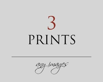 Photography Print Set, Any 3 Prints, Your Choice, Custom Set, Discounted, Wall Art, Travel, Moroccan, Italy, Bohemian Decor, Paris, Nursery