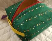 Sale - Christmas Lights Boxy Bag Ready to Ship